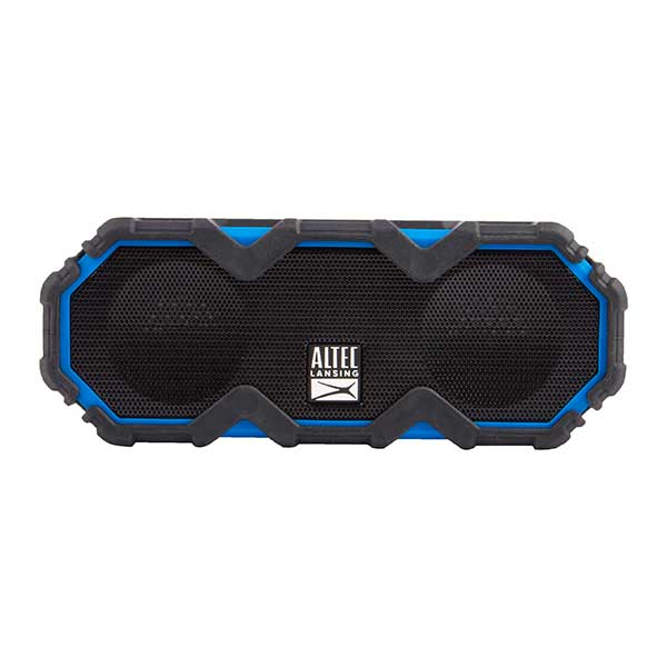 Altec, Lansing, Mini, LifeJacket, Jolt, Black/Blue, -, EVERYTHING, PROOF, Rugged, &, waterproof, Bluetooth, speaker, (16hrs, Batte,