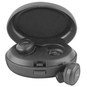Altec, Lansing, True, Evo, Wireless, Earphones, -, True, wireless, stereo, Bluetooth, earphones, (Bluetooth, 4, hrs, Battery, Qi, char,