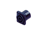 Australian, Monitor, Connector, -, 4, Pole, Twist-Lock, Speaker, Connector, Chassis, Mount,