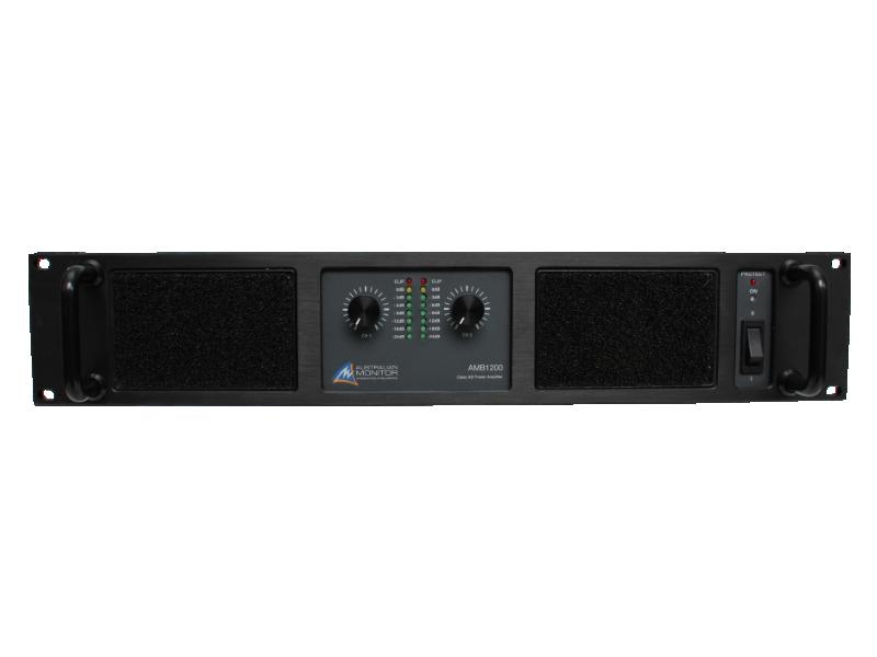 Australian, Monitor, Power, Amplifier., 2, x, 600w, @, 4ohms, 400w, @, 8ohms., 240VAC, 2RU,
