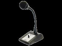 Australian, Monitor, Heavy, duty, gooseneck, style, desk, microphone., Base, c/w, on/off/lock, swit,