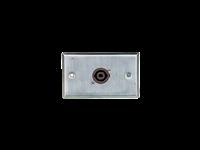 Australian, Monitor, Wall, Plate, with, 1, x, 4, Pole, Twist-Lock, Speaker, Socket,