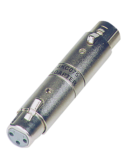 Australian, Monitor, Adaptor, -, XLR, Gender, Changer, XLR-3F, to, XLR-3F,