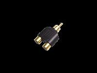 Australian, Monitor, Adaptor, -, Dual, RCA, Sockets, to, RCA, Plug,