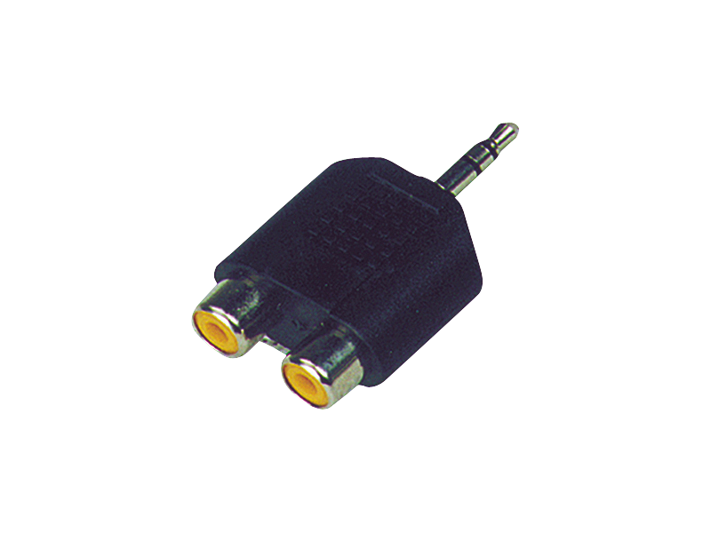 Australian, Monitor, Adaptor, -, 3.5mm, TRS, Jack, Plug, to, Dual, RCA, Sockets,