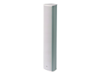 Australian, Monitor, Sound, column., 20W, with, 100V, Taps, at, 20, 10, 5, 2.5W., White, c/w, bracket,
