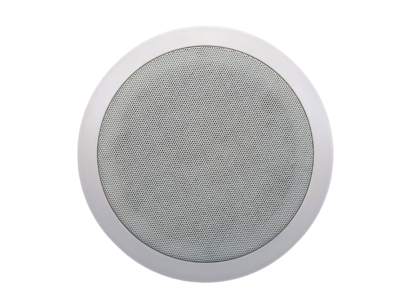 Australian, Monitor, Dual, cone, ceiling, speaker, featuring, white, baffle, and, push, in, grill, 6,