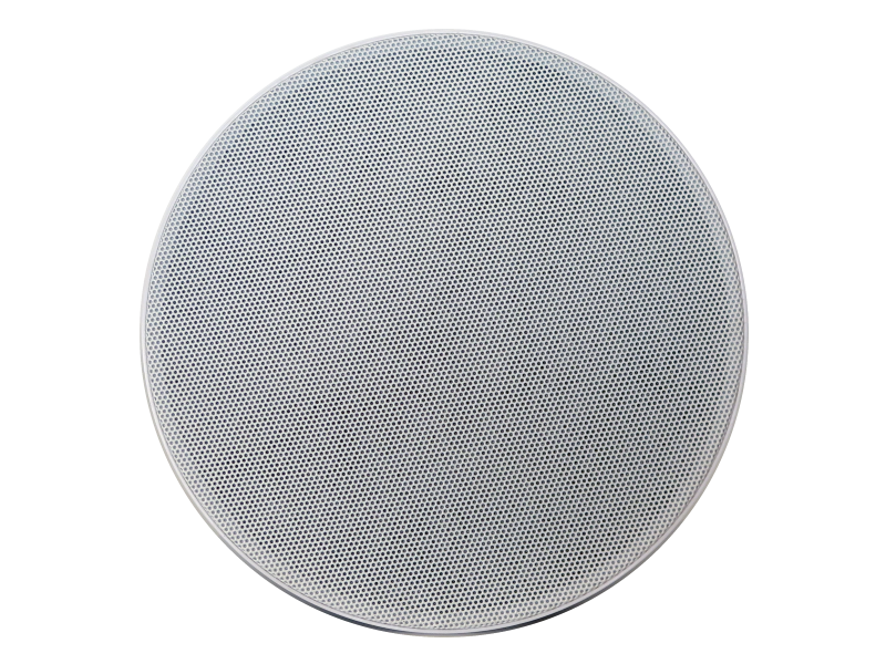 Australian, Monitor, 2, way, coaxial, ceiling, speaker, featuring, frameless, magnetic, white, gril,