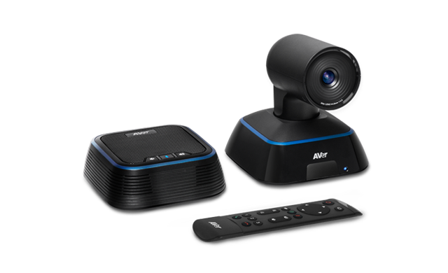 AVer, VC322, 4K, PTZ, USB, Video, Conferencing, Camera, and, Speakerphone, Designed, f,