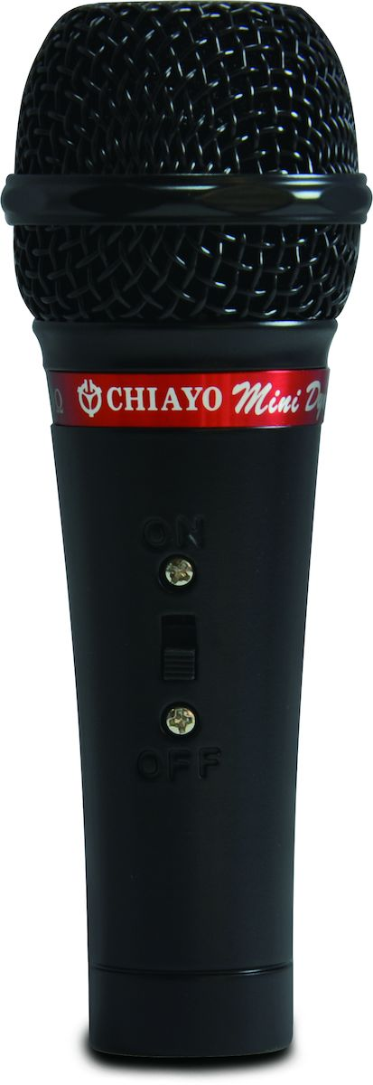 Chiayo, Mini, cabled, dynamic, microphone, black,