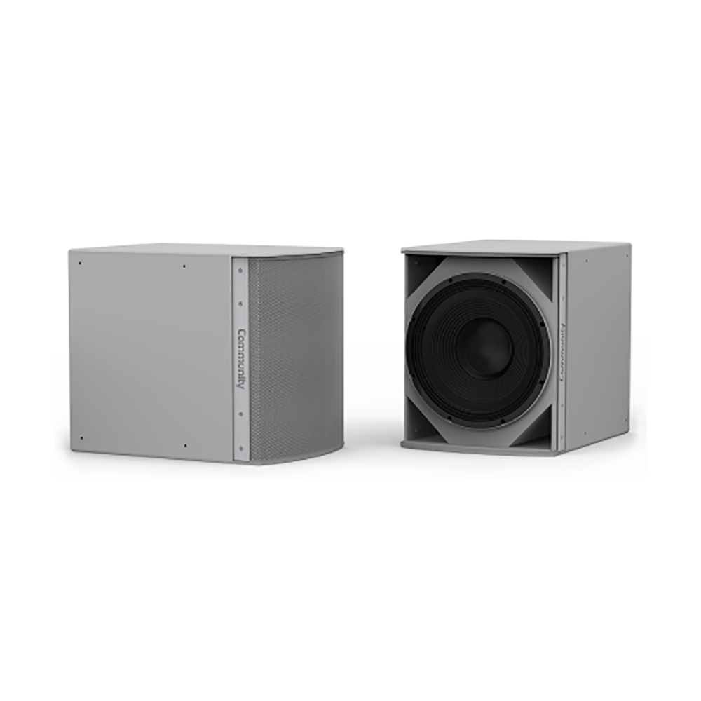 Community, MEDIUM, POWER, 15-INCH, SUBWOOFER, (INDOOR, WHITE),