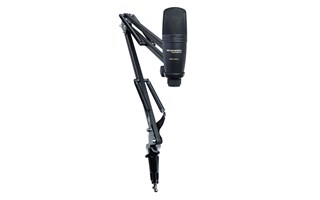 Marantz, Pro, High, quality, condenser, microphone, Fully, adjustable, suspension, boom, a,