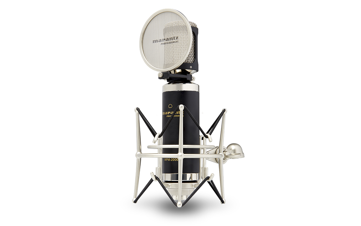 Marantz, Pro, Professional, condenser, microphone, with, 34mm, capsule, Cardioid, polar, pa,