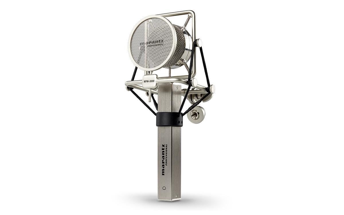 Marantz, Pro, Large, diaphragm, cardioid, condenser, microphone, High, sensitivity, low,