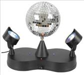 Rotating, Disco, Ball, with, LED, Spotlights,