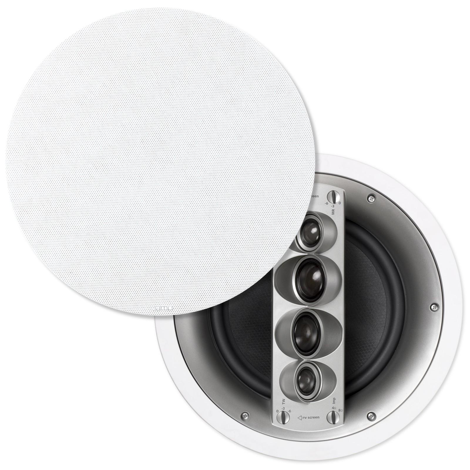 Jamo, Custom, 600, Series, 10, In, Ceiling, Speakers, Pair,