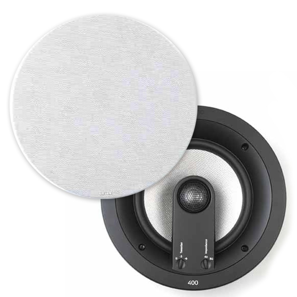 Jamo, Custom, 400, Series, 8, Kevlar, Cone, In, Ceiling, Speakers, Pair,
