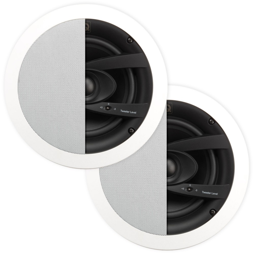 Q, Acoustics, 6.5, Weatherproof, Outdoor, In, Ceiling, Speakers, -, Pair,
