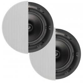 Q, Acoustics, 6.5, Professional, In, Ceiling, Speaker, PRO65C, -, Pair,
