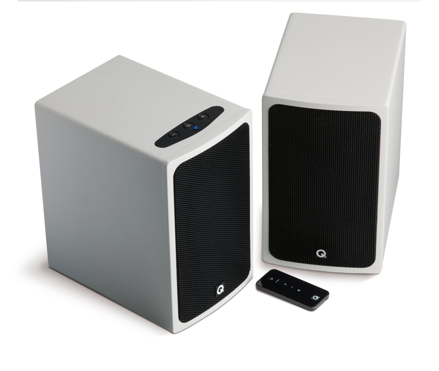 Q, Acoustics, White, Bluetooth, Speakers, -, BT3W,