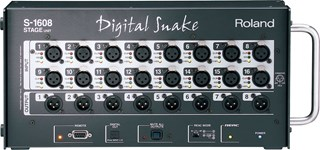 Roland, 24, Channel, Digital, Snake, (16, in, 8, out)., Use, with, S0816, for, 16, sends, 8,