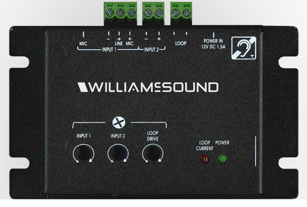 Williams, Sound, NEW***, Counter, loop, amplifier, includes, (1), DL102, amplifier, (1), surfac,
