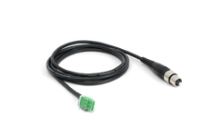 Williams, Sound, XLR, female, to, 3-pin, Phoenix, Contact®, male, connector., For, use, with, IC-2,