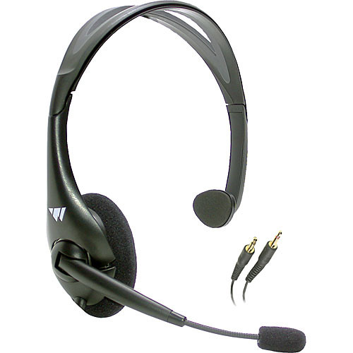 Williams, Sound, Headset, with, boom, microphone., 2, x, 3.5mm, TRS, plugs., Use, with, Digi-Wave,