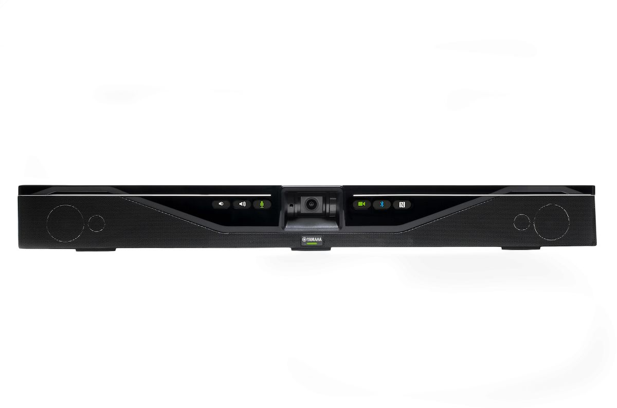 Yamaha, Yamaha, USB, all-in-one, video/sound, collaboration, system, for, huddle, room,