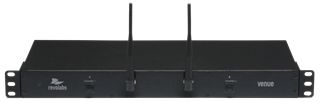 Yamaha, HD, Rack-mount, 2-channel, wireless, receiver, with, A/B, freq, select,