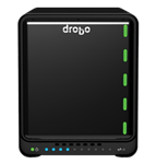 Drobo, 5D3, 5, bay, storage, array, Thunderbolt3/USB, 3.0, Type, C,