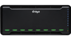Drobo, 8D, 8-bay, storage, array, Thunderbolt3,