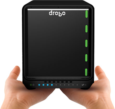 Drobo, 5N2, 5-Bay, NAS, storage, Dual, Gigabit, Ethernet,