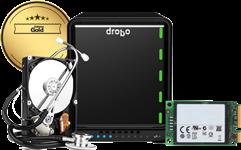 Drobo, 5D3, -, Gold, Edition, 5, Bay, 128G, mSATA, 5, Year, DroboCare,