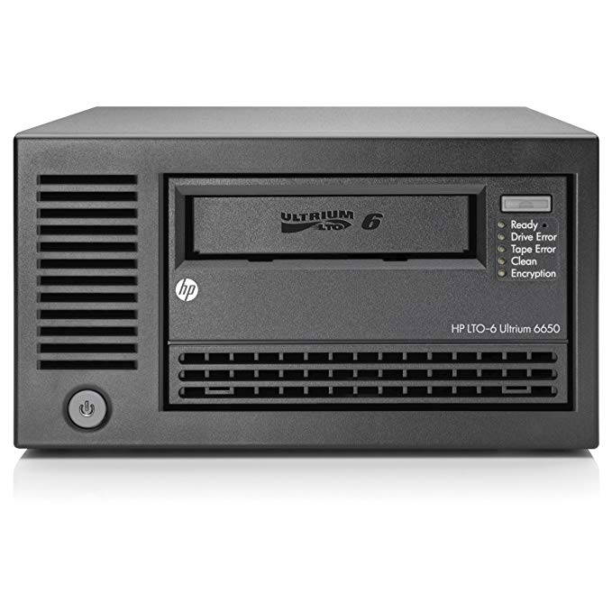 HP, Enterprise, LTO-6, Ultrium, 6650, Ext, Tape, Drive,