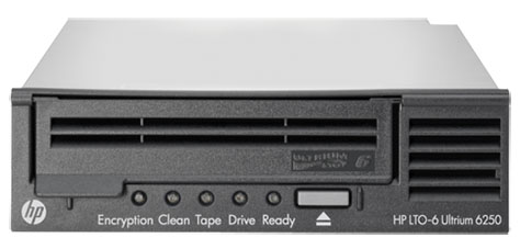HP, Enterprise, LTO-6, Ultrium, 6250, Int, Tape, Drive,