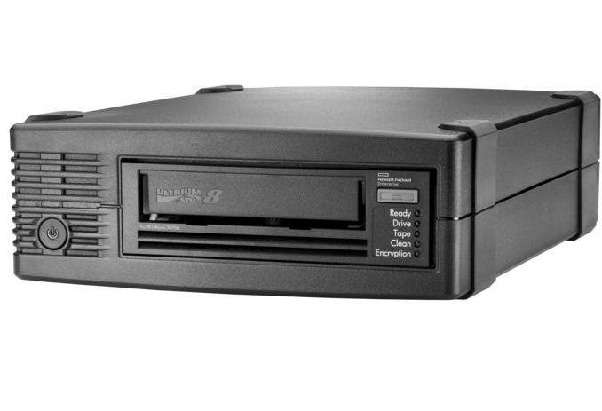 HPE, LTO-8, Ulrium, 30750, External, Tape, Drive,