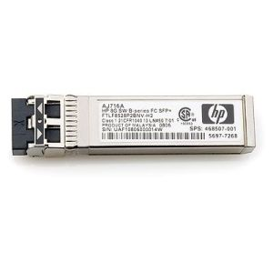 HP, Enterprise, 8Gb, Long, Wave, 10km, Fibre, Channel, SFP+,