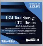 IBM, LTO4, TAPE, 800GB/1.6TB,