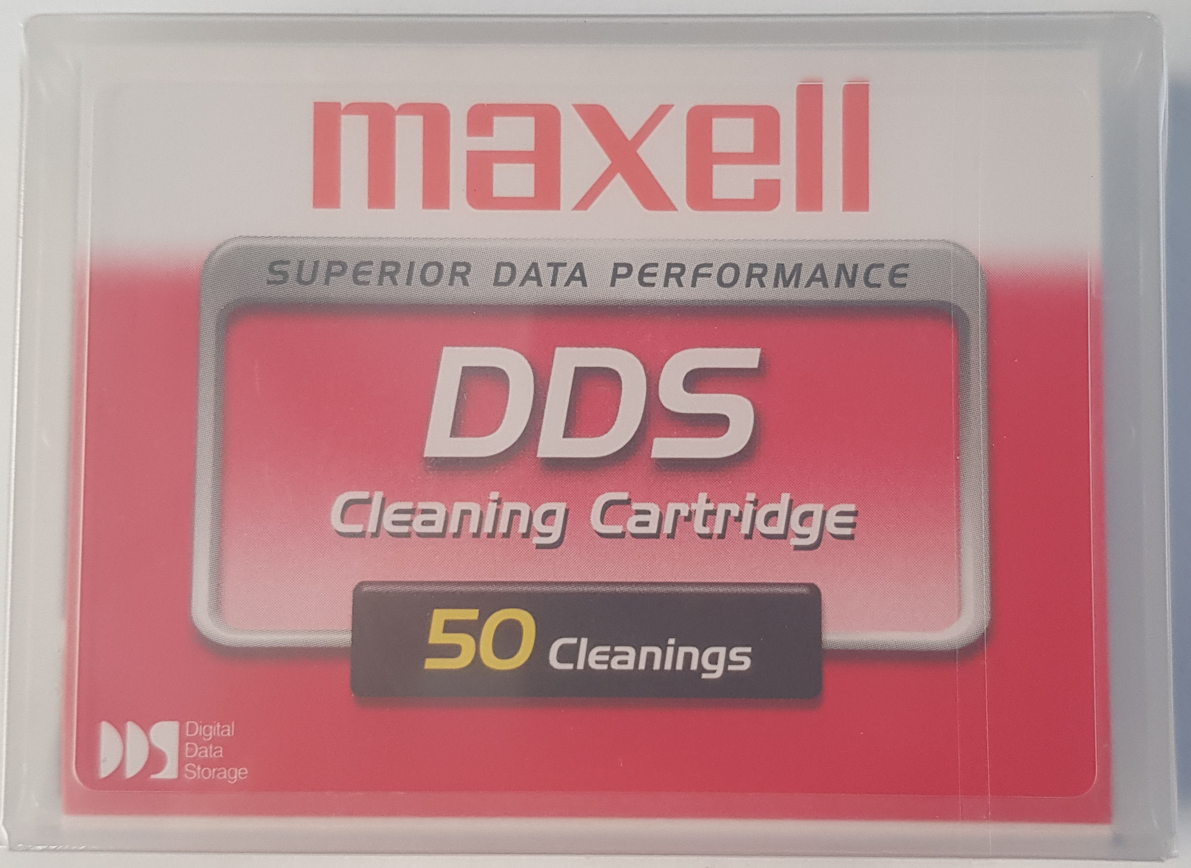 Maxell, DDS, DAT, Cleaning, Tape/Cartridge, 4mm,