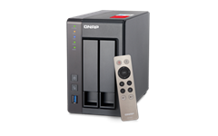 QNAP, TS-251+-8G, 2-Bay, Network, Attached, Storage, Intel, Celeron, Quad-Core, 2.0GHz, (up, to, 2.42GHz), 8GB, DDR3L, RAM, (max, 8GB),