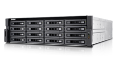 QNAP, TS-EC1680U-E3-4GE-R2, 16-bay, high, performance, unified, storage, with, built-in, 10GbE, Xeon, E3-1200, v3, family, 4GB, ECC, R,
