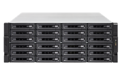 QNAP, TS-2477XU-RP-2700-16G, 24-Bay, NAS, AMD, Ryzen™, 7, 2700, 8-core, 3.2, GHz, processor, Turbo, Core, 4.1, GHz, 16, GB, UDI,