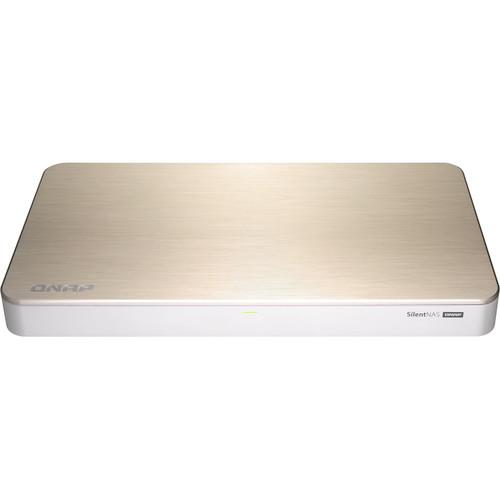 QNAP, HS-453DX-8G, 4, Bay, NAS(No, Disk), CEL, J4105, 8GB, 10GbE(1), GbE(1), Compact, 2YR,