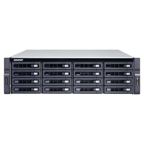 QNAP, TS-1673U-8G, 16-bay, rackmount, NAS, AMD, RX-421ND, 4-core, 2.1GHz, up, to, 3.4GHz, 8GB, DDR4, RAM, (max, 64GB), 2y, AR, wty, (no,