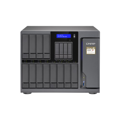 TS1677X-1200, NAS, TOWER, 4, CORE, 3.1GHZ, RYZEN, CPU, 12+4, X, SATA, HDD, MAX, 4GB, DDR4, RAM,