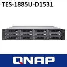 QNAP, TES-1885U-D1531-16GR, 12, (+6)-Bay, TurboNAS, SAS, 12gb, SAS/SATA, 6gb, Xeon, D-1531, 2.2GHz, 16GB, ECC, RAM, 4-LAN, built0,