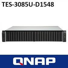 QNAP, TES-3085U-D1548-32GR, 24, (+6)-Bay, TurboNAS, SAS, 12gb, SAS/SATA, 6gb, Xeon, D-1548, 2.0GHz, 32GB, ECC, RAM, 4-LAN, built0,