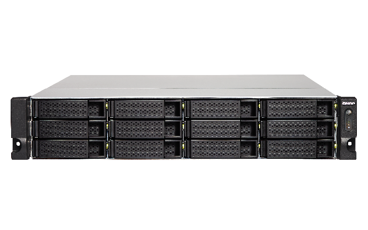 QNAP, TS-1273U-RP-8G, 12-bay, rackmount, NAS, AMD, RX-421ND, 4-core, 2.1GHz, up, to, 3.4GHz, 8GB, DDR4, RAM, (max, 64GB), 2y, AR, wty,