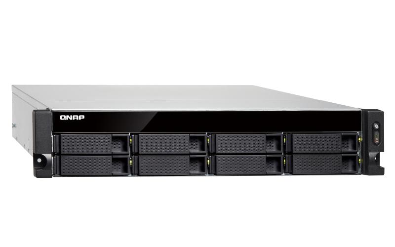 QNAP, TS-832XU-4G, 8, BAY, NAS, (NO, DISK), AL-324, 4GB, USB, GbE(4), 10GbE, SFP+(2), 2U, 3YR, WTY,